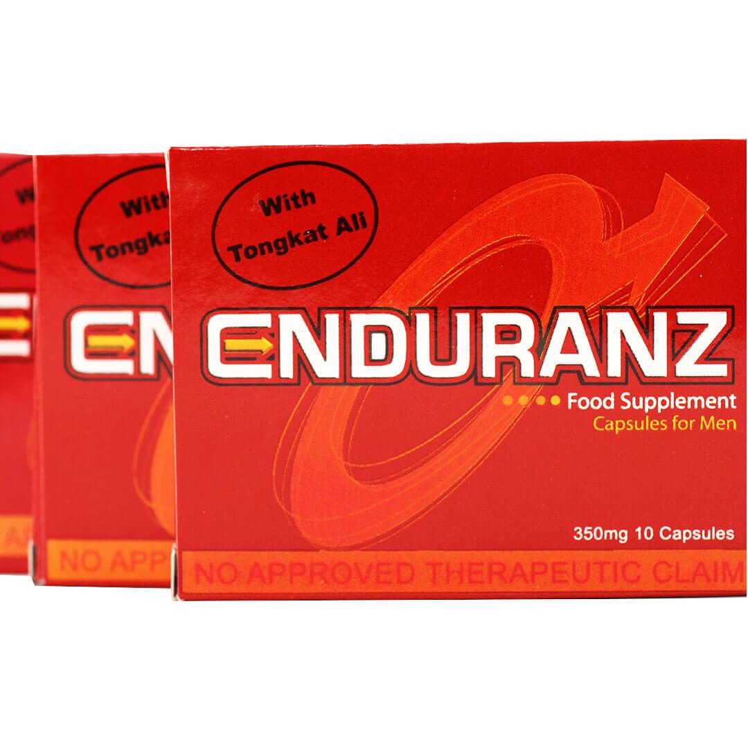 Enduranz / 3 boxes | 350mg ( 30 capsules)